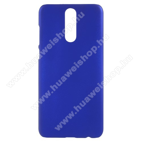 Műanyag védő tok / hátlap - Hybrid Protector - SÖTÉTKÉK - HUAWEI Mate 10 Lite / HUAWEI nova 2i / HUAWEI Honor 9i / HUAWEI Maimang 6