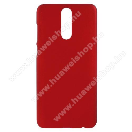 Műanyag védő tok / hátlap - Hybrid Protector - PIROS - HUAWEI Mate 10 Lite / HUAWEI nova 2i / HUAWEI Honor 9i / HUAWEI Maimang 6