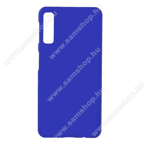 Műanyag védő tok / hátlap - Hybrid Protector - SÖTÉTKÉK - SAMSUNG SM-A750F Galaxy A7 (2018)