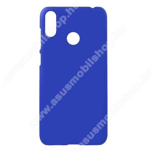 Műanyag védő tok / hátlap - Hybrid Protector - SÖTÉTKÉK - ASUS Zenfone Max (M2) (ZB633KL)