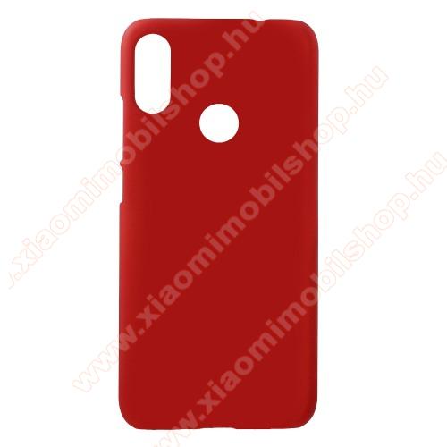 Xiaomi Redmi Note 7Műanyag védő tok / hátlap - Hybrid Protector - PIROS - Xiaomi Redmi Note 7 / Xiaomi Redmi Note 7 Pro / Xiaomi Redmi Note 7S