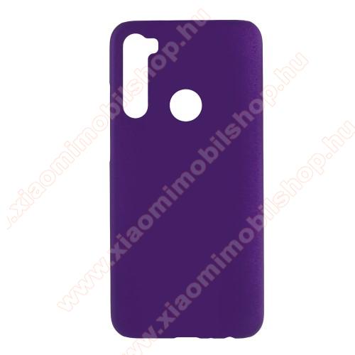 Műanyag védő tok / hátlap - Hybrid Protector - LILA - Xiaomi Redmi Note 8