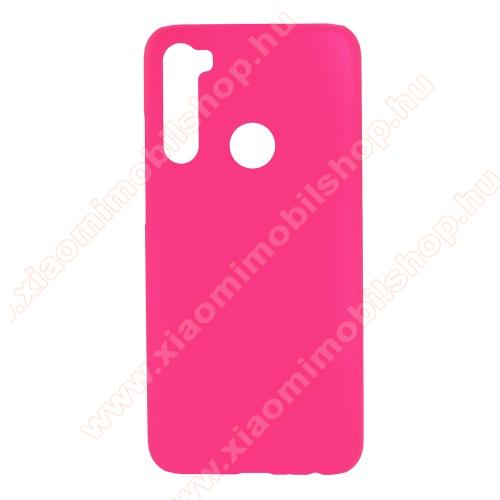 Műanyag védő tok / hátlap - Hybrid Protector - MAGENTA - Xiaomi Redmi Note 8