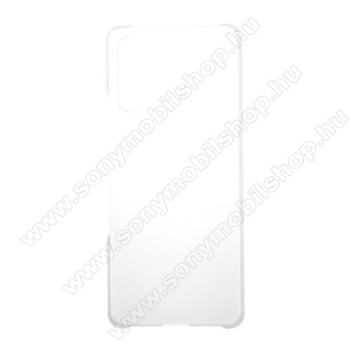 Műanyag védő tok / hátlap - Hybrid Protector - ÁTLÁTSZÓ - SONY Xperia 10 III