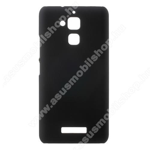 Műanyag védő tok / hátlap - Hybrid Protector - FEKETE - ASUS Zenfone 3 Max (ZC520TL)