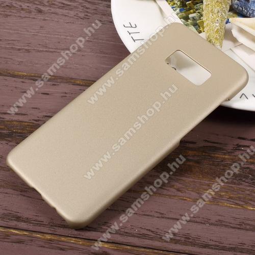 Műanyag védő tok / hátlap - Hybrid Protector - ARANY - SAMSUNG SM-G950 Galaxy S8