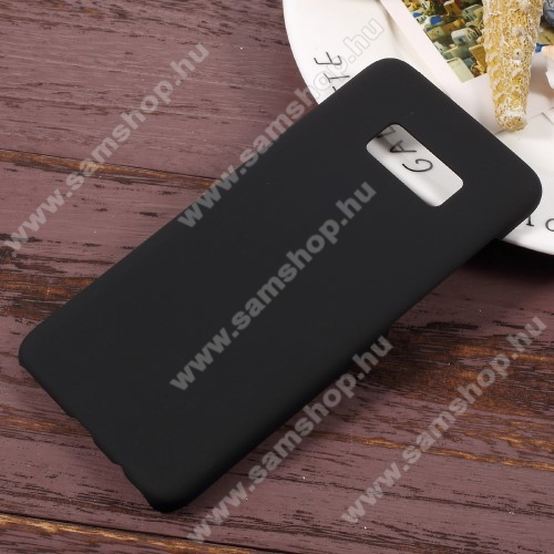 Műanyag védő tok / hátlap - Hybrid Protector - FEKETE - SAMSUNG SM-G950 Galaxy S8