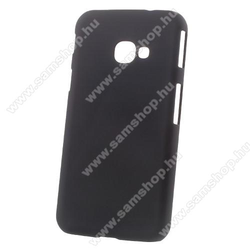 Műanyag védő tok / hátlap - Hybrid Protector - FEKETE - SAMSUNG SM-G390 Galaxy Xcover 4