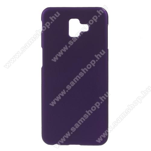 Műanyag védő tok / hátlap - LILA - Hybrid Protector - SAMSUNG SM-J610F Galaxy J6+