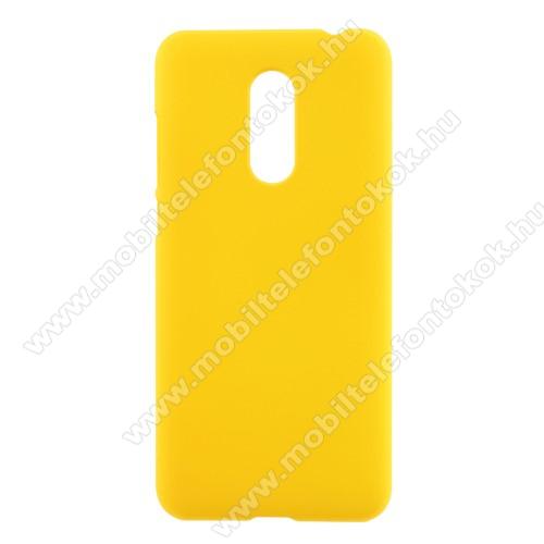 Műanyag védő tok / hátlap - SÁRGA - Hybrid Protector - XIAOMI Redmi Note 5 / XIAOMI Redmi 5 Plus