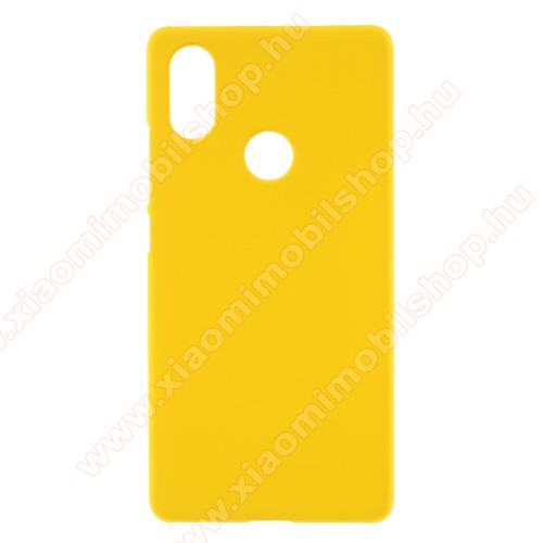 Műanyag védő tok / hátlap - SÁRGA - Hybrid Protector - Xiaomi Mi 8 SE