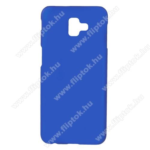 Műanyag védő tok / hátlap - SÖTÉTKÉK - Hybrid Protector - SAMSUNG SM-J610F Galaxy J6+