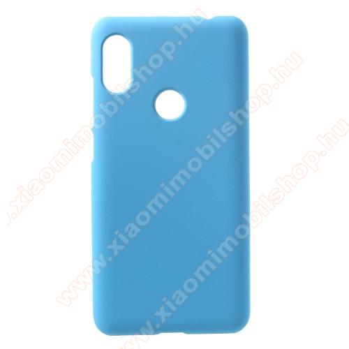 Műanyag védő tok / hátlap - VILÁGOSKÉK - Hybrid Protector - Xiaomi Redmi Note 6 Pro