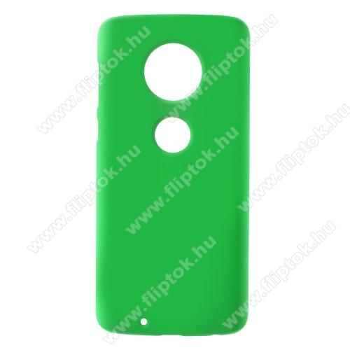 Műanyag védő tok / hátlap - ZÖLD - Hybrid Protector - MOTOROLA Moto G6