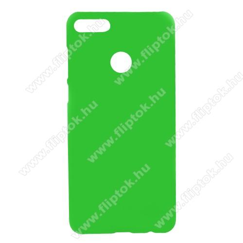 Műanyag védő tok / hátlap - ZÖLD - Hybrid Protector - HUAWEI Y9 (2018) / HUAWEI Enjoy 8 Plus