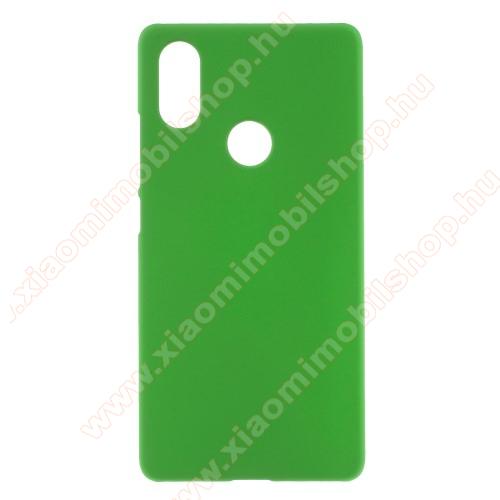 Műanyag védő tok / hátlap - ZÖLD - Hybrid Protector - Xiaomi Mi 8 SE