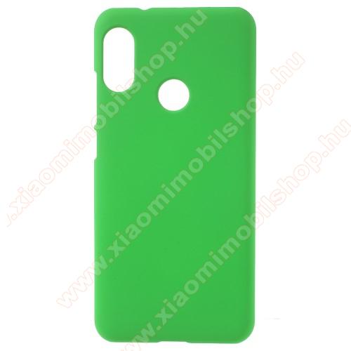 Műanyag védő tok / hátlap - ZÖLD - Hybrid Protector - Xiaomi Redmi 6 Pro / Xiaomi Mi A2 Lite