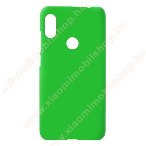 Műanyag védő tok / hátlap - ZÖLD - Hybrid Protector - Xiaomi Redmi Note 6 Pro