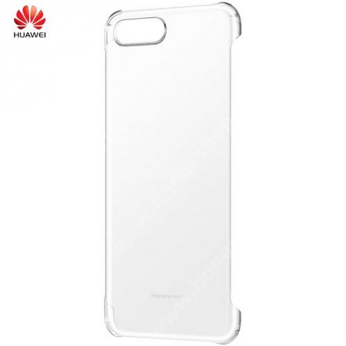 HUAWEI Honor View 10 Műanyag védőtok - ÁTLÁTSZÓ - 51992293 - Huawei Honor View 10 - GYÁRI