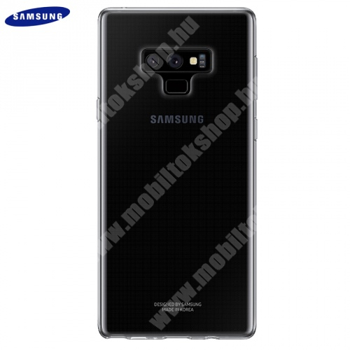Műanyag védőtok - ÁTLÁTSZÓ - EF-QN960TTE - Samsung Galaxy Note 9 (SM-N960F) - GYÁRI