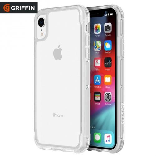 Műanyag védőtok / hátlap SURVIVOR CLEAR (szilikon keret, 1.2méterig ütésálló) ÁTLÁTSZÓ - GIP-002-CLR - APPLE iPhone XR 6.1 - GYÁRI