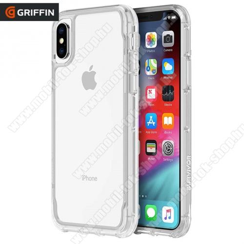 Műanyag védőtok / hátlap SURVIVOR CLEAR (szilikon keret, 1.2méterig ütésálló) ÁTLÁTSZÓ - GIP-012-CLR - APPLE iPhone XS Max 6.5 - GYÁRI