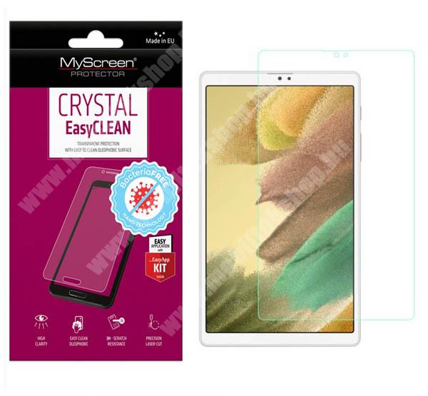MYSCREEN CRYSTAL BacteriaFREE képernyővédő fólia - CRYSTAL - 1db, törlőkendővel, antibakteriális, A képernyő sík részét védi! - SAMSUNG Galaxy Tab A7 Lite (SM-T220 / SM-T225) - GYÁRI
