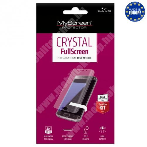 MYSCREEN képernyővédő fólia - Crystal Clear - 1db, törlőkendővel - A TELJES KIJELZŐT VÉDI! - HUAWEI Y7 (2019) / HUAWEI Y7 Prime (2019) - GYÁRI