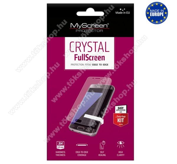 MYSCREEN képernyővédő fólia - Crystal Clear - 1db, törlőkendővel - A TELJES KIJELZŐT VÉDI! - HUAWEI P40 Lite / Huawei Nova 7i / Huawei nova 6 SE - GYÁRI