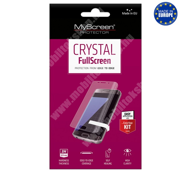 MYSCREEN képernyővédő fólia - Crystal Clear - 1db, törlőkendővel - A TELJES KIJELZŐT VÉDI! - ALCATEL 1S (2020) (OT-5028D) / ALCATEL 1V (2020) / ALCATEL 3L (2020) - GYÁRI