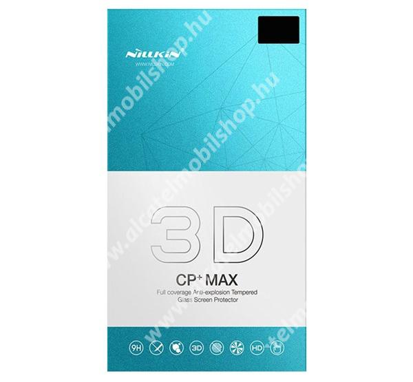 NILLKIN 3D CP+ MAX előlap védő karcálló edzett üveg - 0,3mm, 9H, ujjlenyomat támogatás nélkül - FEKETE - A TELJES KIJELZŐT VÉDI! - SAMSUNG SM-N975F Galaxy Note10+ - GYÁRI