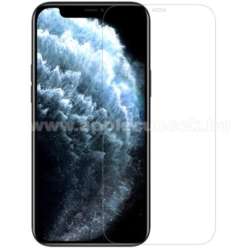 APPLE iPhone 12 Pro MaxNILLKIN Amazing H előlap védő karcálló edzett üveg - 0.33mm, 9H, A képernyő sík részét védi - APPLE iPhone 12 Pro Max - GYÁRI