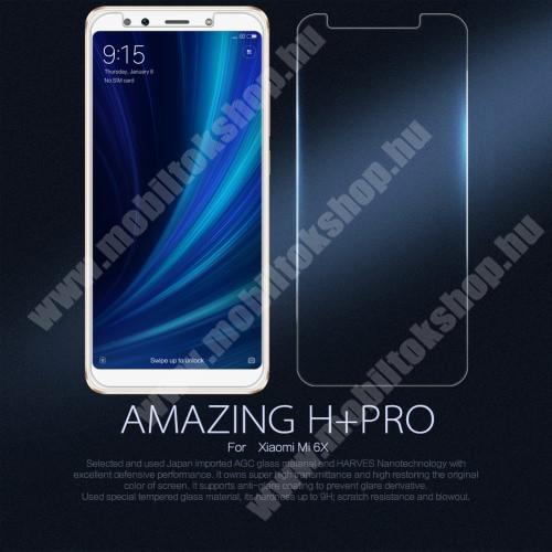 NILLKIN Amazing H+PRO előlap védő karcálló edzett üveg - 0.2mm, 9H - Xiaomi Mi 6X / Xiaomi Mi A2 - GYÁRI