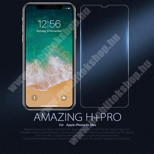 NILLKIN Amazing H+PRO előlap védő karcálló edzett üveg - 0.2mm, 9H - APPLE iPhone XS Max - GYÁRI