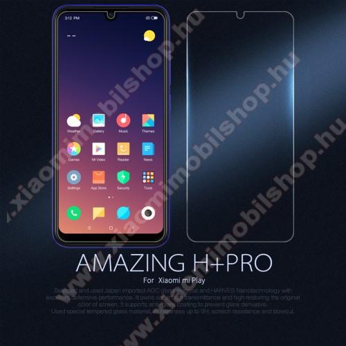 NILLKIN Amazing H+PRO előlap védő karcálló edzett üveg - 0.2mm, 9H - Xiaomi Mi Play - GYÁRI
