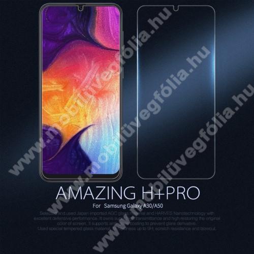 NILLKIN Amazing H+PRO előlap védő karcálló edzett üveg - 0.2mm, 9H - SAMSUNG SM-A305F Galaxy A30 / SAMSUNG SM-A505F Galaxy A50 - GYÁRI