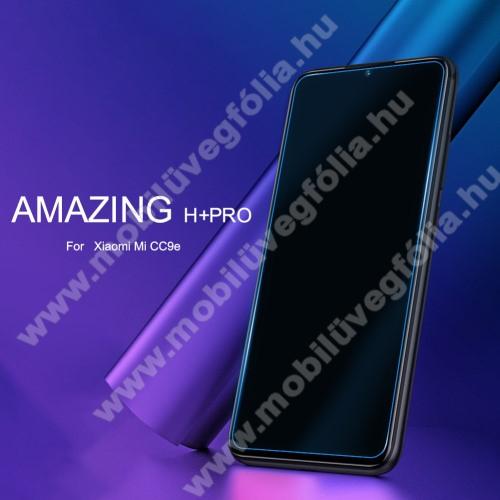 NILLKIN Amazing H+PRO előlap védő karcálló edzett üveg - 0.2mm, 9H, A képernyő sík részét védi - Xiaomi Mi CC9e / Xiaomi Mi A3 - GYÁRI