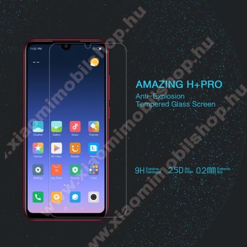 NILLKIN Amazing H+PRO előlap védő karcálló edzett üveg - 0.2mm, 9H, A képernyő sík részét védi - Xiaomi Redmi Note 8 - GYÁRI
