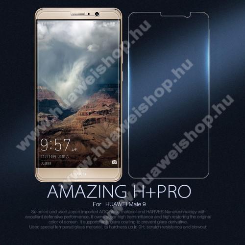 NILLKIN Amazing H+PRO előlap védő karcálló edzett üveg - 0.2mm, 9H, A képernyő sík részét védi - HUAWEI Mate 9 - GYÁRI