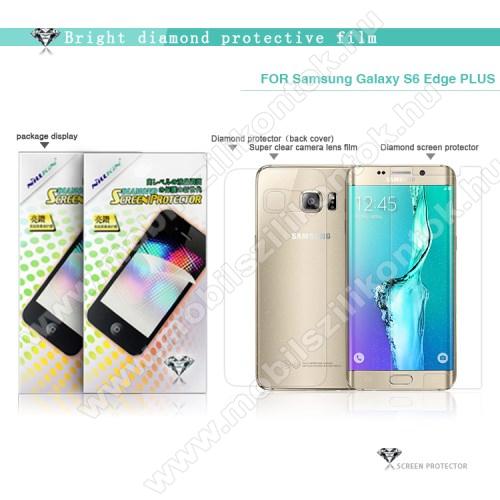 NILLKIN Full Body Diamond képernyővédő és hátlapvédő fólia - 1-1db - HD Clear - SAMSUNG SM-G928 Galaxy S6. Edge + - GYÁRI