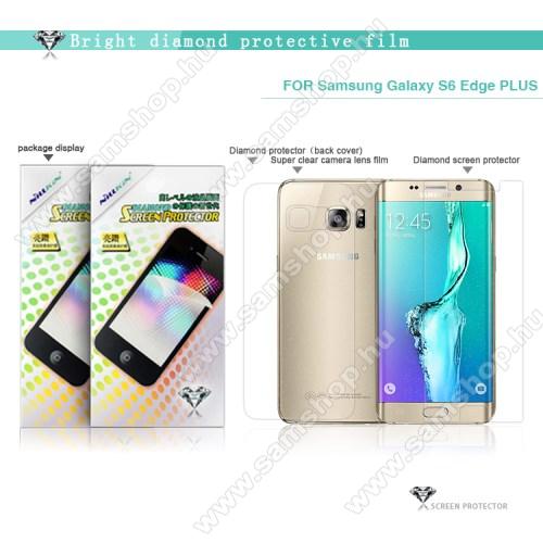 SAMSUNG SM-G928 Galaxy S6 Edge +NILLKIN Full Body Diamond képernyővédő és hátlapvédő fólia - 1-1db - HD Clear - SAMSUNG SM-G928 Galaxy S6. Edge + - GYÁRI