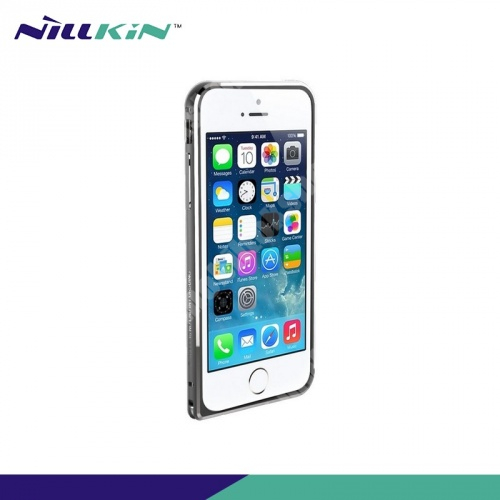 NILLKIN GOTHIC BORDER alumínium védő keret - BUMPER - SZÜRKE - APPLE iPhone 6 - GYÁRI