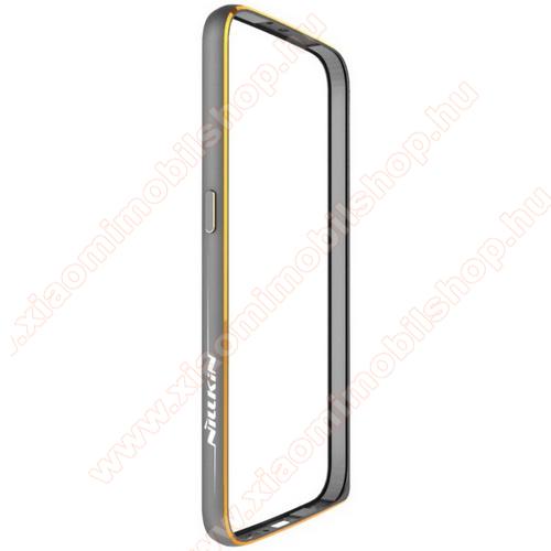 NILLKIN Gothic Border Series műanyag védő keret / bumper - SZÜRKE - SAMSUNG SM-G920 Galaxy S6 - GYÁRI