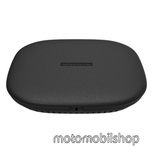 MOTOROLA Moto X Style NILLKIN hálózati töltő állomás (vezeték nélküli töltés, QI Wireless, gyorstöltés támogatás, karbonminta, fogadóegység nélkül!, 15W (Max)) FEKETE - GYÁRI