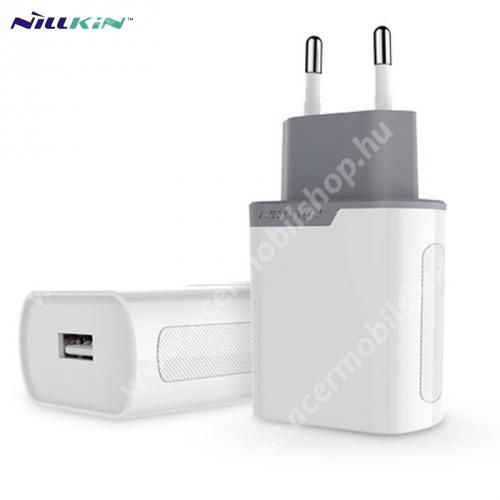 ACER Liquid Z3 NILLKIN hálózati töltő USB aljzat (5V / 2000 mA, gyorstöltés támogatás, kábel nélkül) FEHÉR - GYÁRI