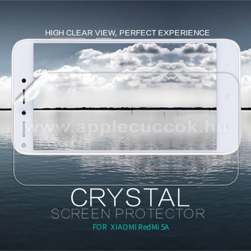 NILLKIN k�perny?v�d? f�lia - Crystal Clear - 1db, t�rl?kend?vel - Xiaomi Redmi 5A - GY�RI