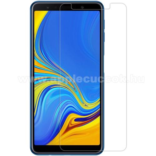 NILLKIN k�perny?v�d? f�lia - Crystal Clear - 1db, t�rl?kend?vel - SAMSUNG SM-A750F Galaxy A7 (2018) - GY�RI