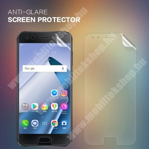 NILLKIN képernyővédő fólia - Anti Glare - 1db, törlőkendővel - ASUS Zenfone 4 (ZE554KL) - GYÁRI