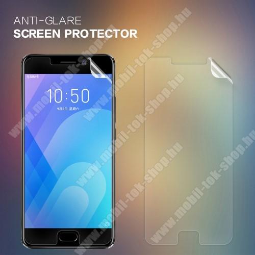 NILLKIN képernyővédő fólia - Anti Glare - 1db, törlőkendővel - Meizu M6 Note - GYÁRI