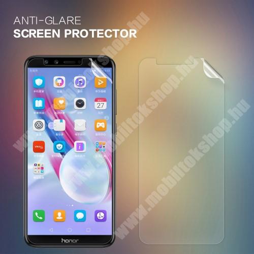 NILLKIN képernyővédő fólia - Anti Glare - 1db, törlőkendővel - HUAWEI Honor 9 Lite / HUAWEI Honor 9 Youth Edition - GYÁRI